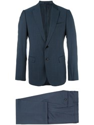 Armani Collezioni Two Piece Suit Blue