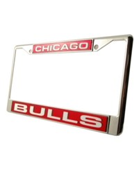 Rico Industries Chicago Bulls Laser License Plate Frame Team Color