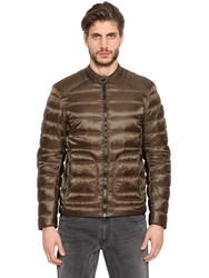 Belstaff Halewood Nylon Down Jacket