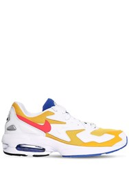 Nike Air Max2 Light Qs Sneakers Gold White