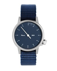 Miansai M24 Stainless Steel Watch With Nylon Strap Navy Men's