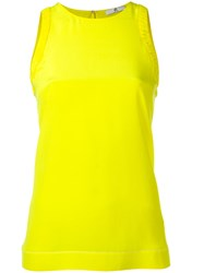 Paul Smith Ps By Keyhole Detail Top Yellow Orange
