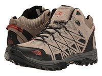 The North Face Storm Iii Mid Wp Dune Beige Arabian Spice Hiking Boots Brown