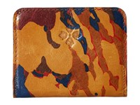Patricia Nash Lucia Snap Wallet Parisian Camo Wallet Handbags Multi