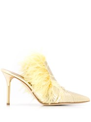 Malone Souliers Magda Feather Embellished Mules 60