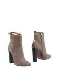 Paul Smith Ankle Boots Dove Grey