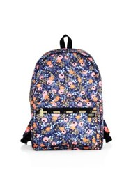 Le Sport Sac Rifle Paper Co. X Lesportsac Essential Backpack Rosa