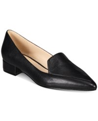 Cole Haan Dellora Skimmer Flats Women's Shoes Black Leather