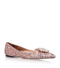Dolce And Gabbana Belucci Ballet Slippers Female Nude