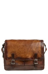 Men's Frye 'Oliver' Leather Messenger Bag