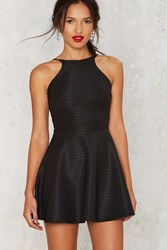 Nasty Gal In The Slick Of It Fit And Flare Mini Dress