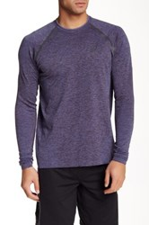 Asics Seamless Long Sleeve Tee Gray
