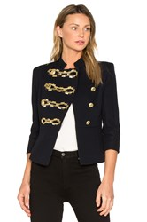 Balmain Military Jacket Blue