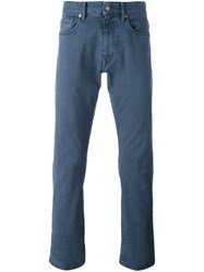 Incotex Slim Fit Jeans Blue