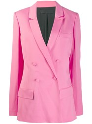 Haider Ackermann Double Breasted Blazer Pink