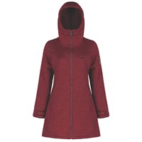 Regatta Radella Hooded Fleece Red