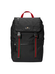 Gucci Technical Canvas Backpack Women Nylon Canvas One Size Black