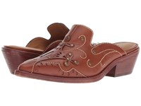 Patricia Nash Benedetta Tan Leather Clog Shoes