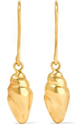 Pippa Small 18 Karat Gold Earrings One Size
