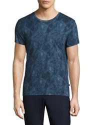 J. Lindeberg Graphic Printed Cotton Tee Navy