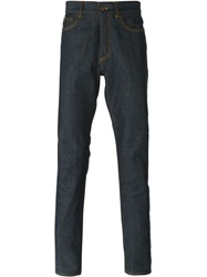 Givenchy Contrast Pocket Jeans Blue
