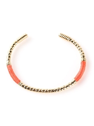 Aurelie Bidermann 'Soho' Bangle Yellow And Orange