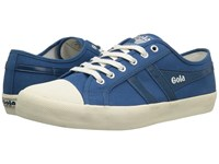 Gola Coaster Marine Blue Marine Blue Off White Men's Lace Up Casual Shoes