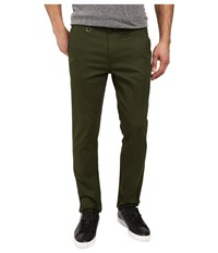 Publish Classic Premium Stretch Twill Fabric On Classic Fit Pants Olive Men's Casual Pants