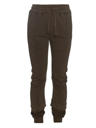 Haider Ackermann Double Cuff Cotton Jersey Track Pants