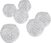 Cb2 Set Of 6 Chroma Tea Light Candle Holders