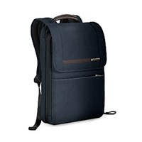 Briggs And Riley Kinzie Street Flapover Expandable Backpack Navy