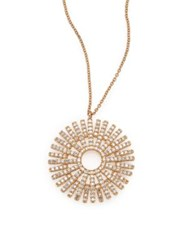 Astley Clarke Rising Sun Diamond And 14K Yellow Gold Pendant Necklace