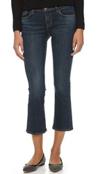 J Brand Selena Cropped Boot Cut Jeans Lonesome