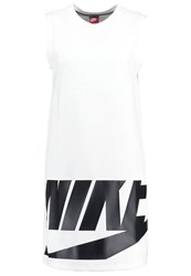 Nike Sportswear Irreverent Jersey Dress White Black White