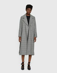 Just Female Holmes Coat In Check