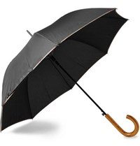 Paul Smith Walker Wood Handle Umbrella Black