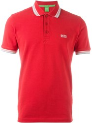 Boss Hugo Boss Classic Polo Shirt Red