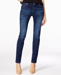 Inc International Concepts Petite Rose Wash Skinny Jeans Only At Macy's