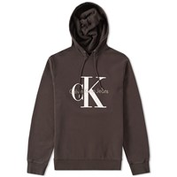Calvin Klein True Icon Pullover Hoody Brown