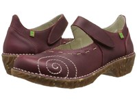 El Naturalista Yggdrasil N095 Rioja Women's Maryjane Shoes Red
