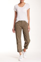 Mother The Loosey Boyfriend Pant Green
