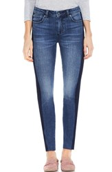Vince Camuto Two By Two Tone Skinny Jeans Indigo Shadow
