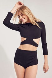 Silence And Noise Alexia Short Short Two Piece Set Black