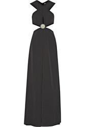 Christopher Kane Cutout Crepe Gown