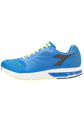 Diadora Kuruka Neutral Running Shoes Saltire Navy Lemon Acid Green Blue