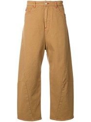Kenzo Twisted Jeans Brown