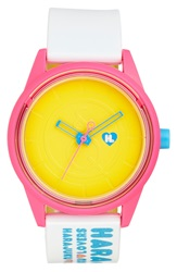 Harajuku Lovers Resin Solar Watch 40Mm Limited Edition Baby Shine Bright