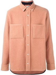 Tim Coppens Worker Shirt Pink And Purple