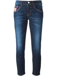 Iceberg Cropped Jeans Blue