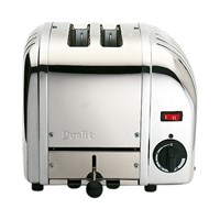 Dualit Two Slot Toaster Stainless Steel